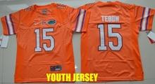 2016 new high quality,Florida Gators Tim Tebow Jeff Driskel Emmitt Smith for YOUTH KIDS(China (Mainland))