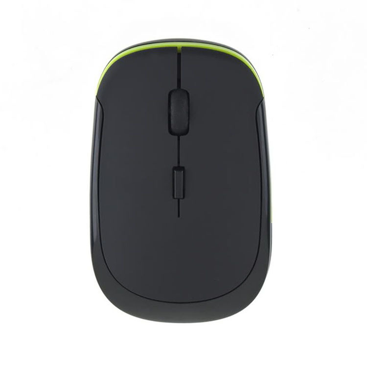 Free shipping 2.4GHz Slim Optical Wireless Mouse Mini USB Receiver For Laptop Desktop Computer Peripherals PC Gaming Mice Mouse(China (Mainland))