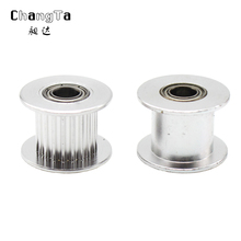 Buy CHANGTA 2GT 20 tooth Idle pulley 20 teeth 20tooth timing Gear Bore 5mm GT2 belt width 10MM without teeth/without teeth for $1.39 in AliExpress store