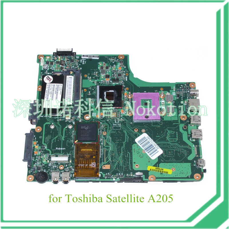 1310A2109427 SPS V000108660 Main board For toshiba satellite A200 A205 Laptop motherboard GM965 DDR2(China (Mainland))