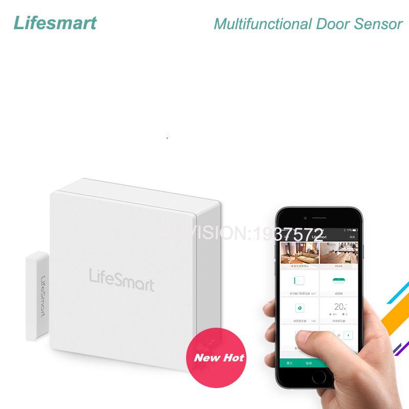 Lifesmart Multifunctional DoorWindow Sensor Security Alarm Wireless GSM3G4GWiFi Smart Home Motion Detect 433 Control by APP-1