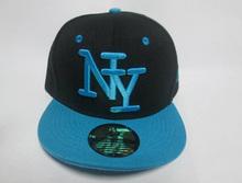 Free shipping  2015 NY  Kids Snapback Cartoon Embroidery Children Cotton Baseball Cap Baby Boys Girl Snapback Caps Hip Hop Hats(China (Mainland))