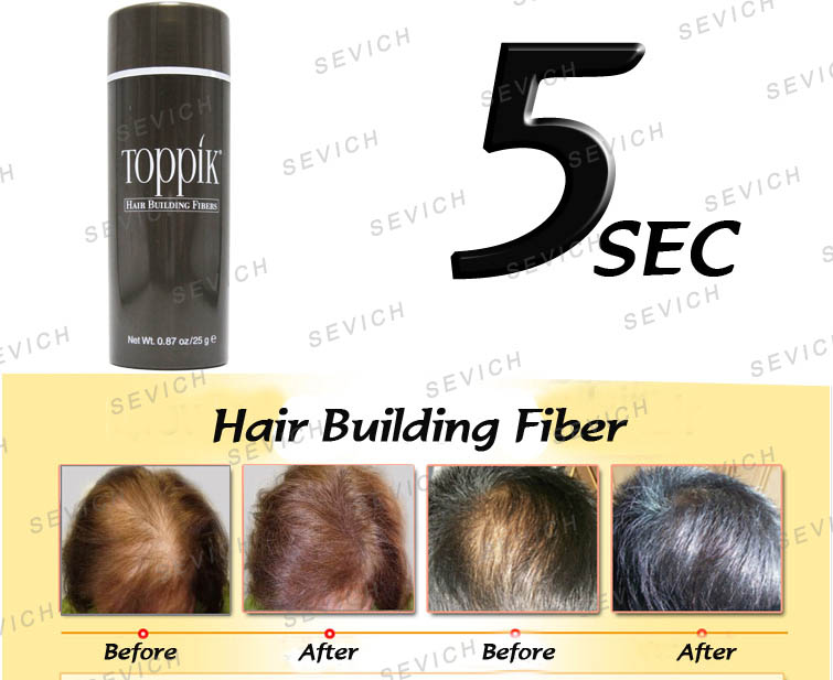 hair building fiber how to use