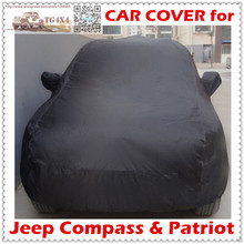 Top Quality Car Covers for Jeep Compass Patriot Waterproof UV-Proof Camouflage Silver Black Cover for Cars(China (Mainland))