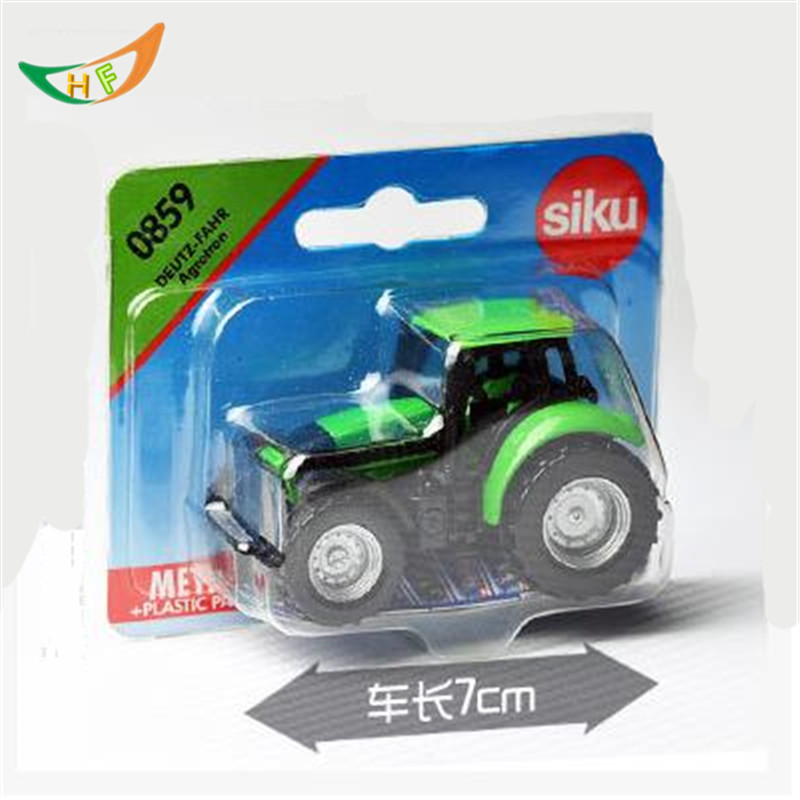 Hot Sk valtra sales mini farm fendt tractor used 1: 55 metal scale model kids toys christmas gift oyuncak trator trailer truck(China (Mainland))