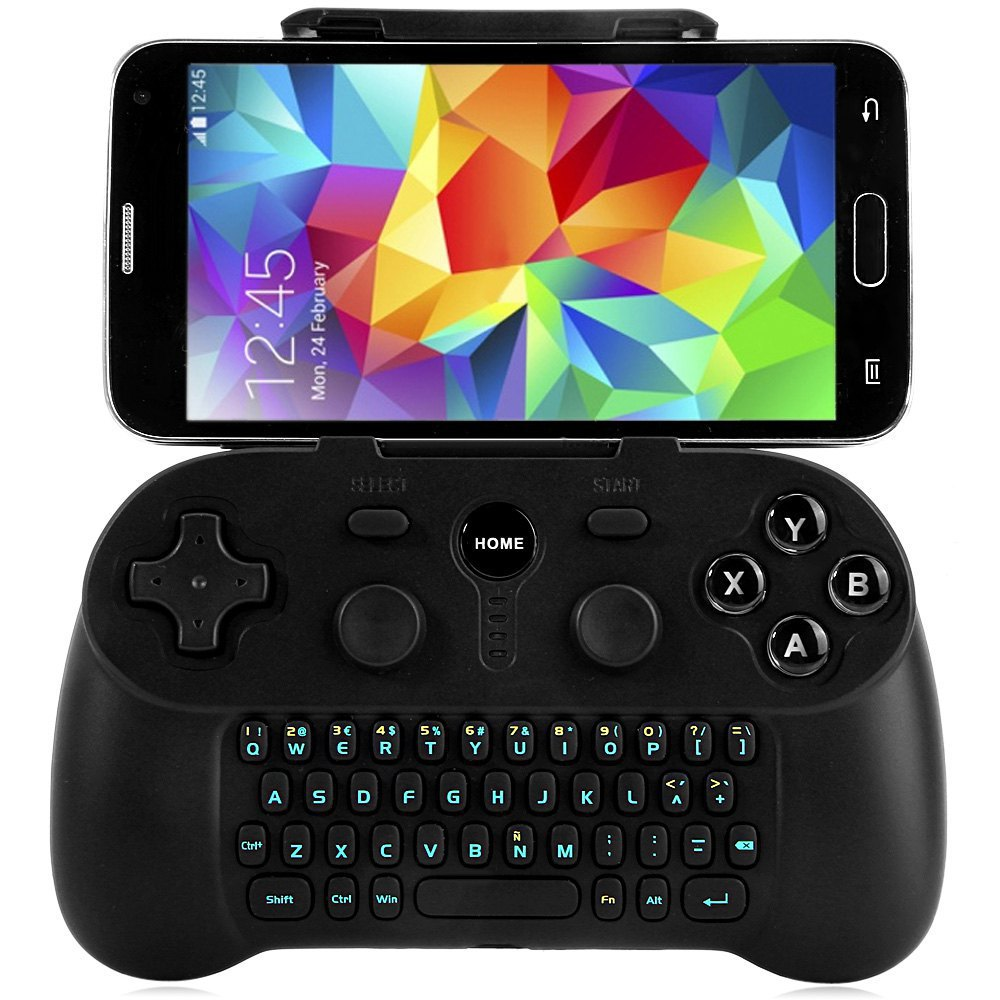 Wireless Bluetooth Gamepad &Keyboard for Windows Android OSX Game Controller Joysticker for Samsung Galaxy S7 S7 edge S6 S6 edge(China (Mainland))