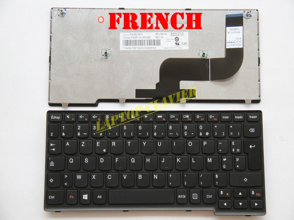 AZERTY for Lenovo IdeaPad S210 S215 MP-12U1 Touch Clavier French Keyboard<br><br>Aliexpress