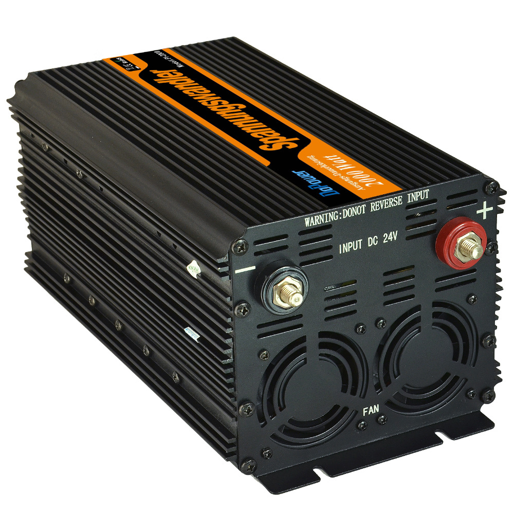 power inverter 2000 / 4000 watt DC 24V a AC 230V power inverter off grid inverter solar power supply(China (Mainland))