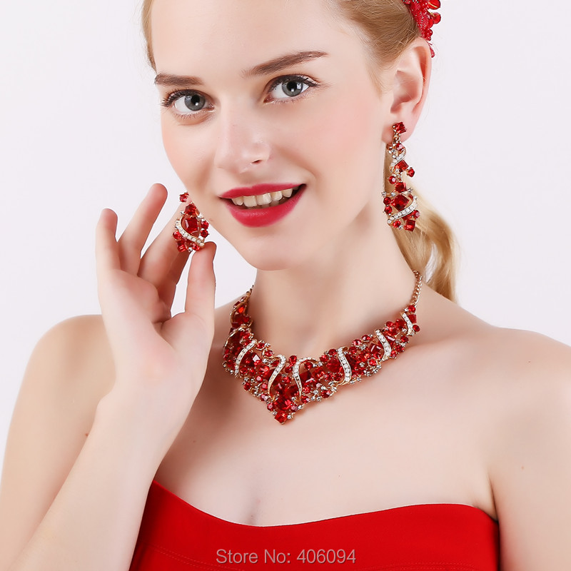 Red Necklace Accessories New Photo Blog With Jewelry