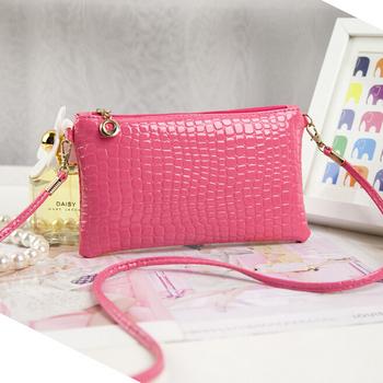 Women's Crocodile Leather Crossbody Bag