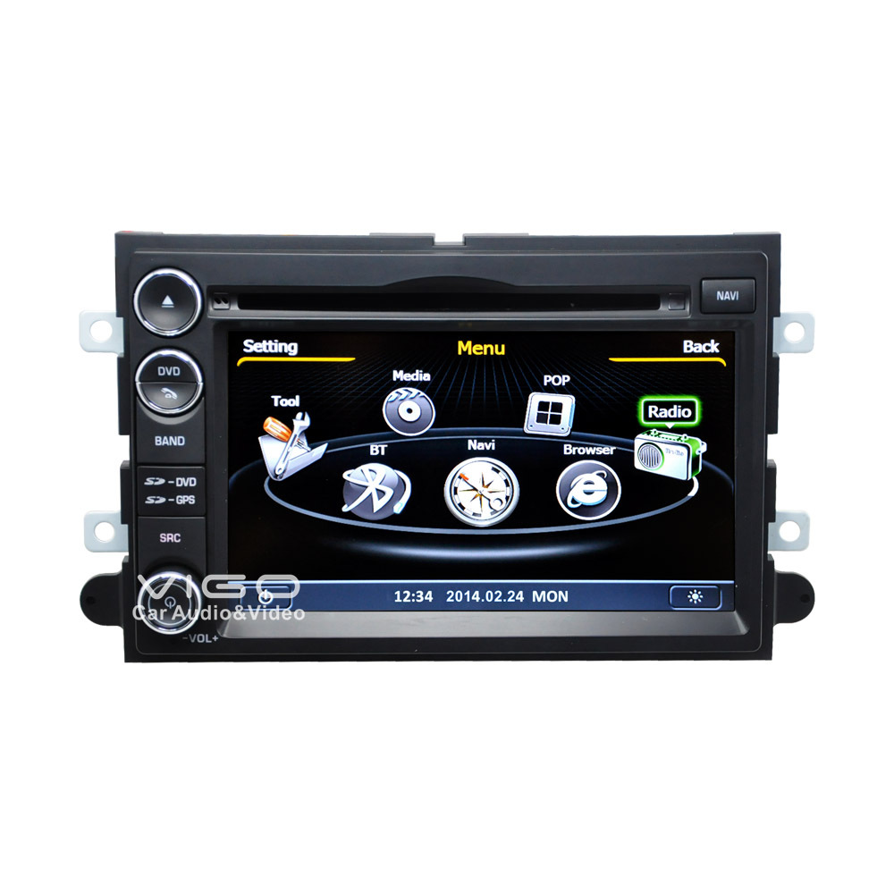 Car Stereo GPS Navigation for Ford F 150 Fusion Explorer Expedition Edge Radio DVD Player Multimedia