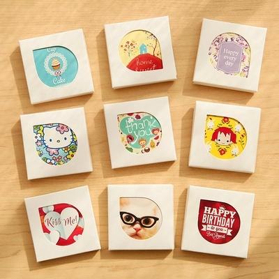38 sheets/set Kawaii Cartoon Mini Paper Stickers Decoration DIY Scrapbooking Sticker Stationery(China (Mainland))