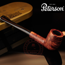 100% Handmade Limited 10 In 1 Briar Smoking Pipe Pedersen peterson for ar an briar log series smoking pipe smoke pipe tobacco(China (Mainland))
