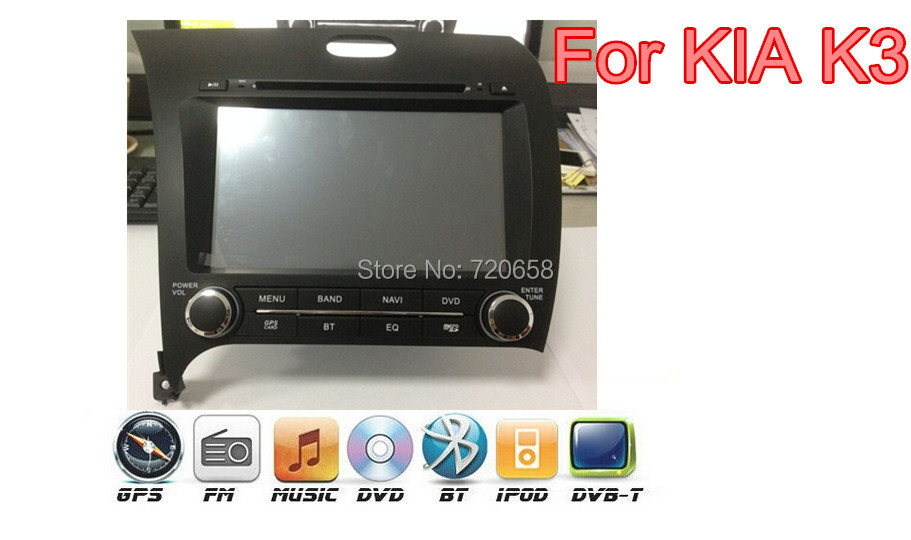For KIA K3 FREE SHIPPING 7  CAR DVD+SWC+ATV+IPOD+BT+Radio+Telephone book+AUX IN+GPS RDS<br><br>Aliexpress