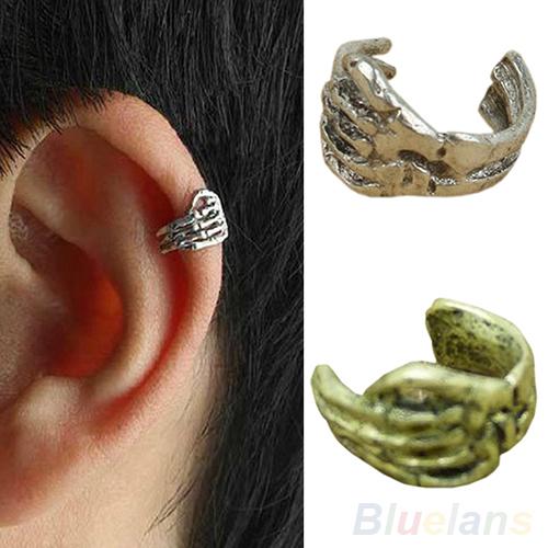 Earrings Clip Men Women on