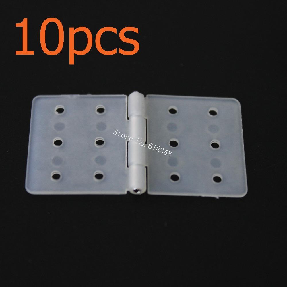 10pcs Nylon & Pinned Hinge 20x36 With Removable Split Pins RC Airplane Parts Aeromodelling Model DIY(China (Mainland))