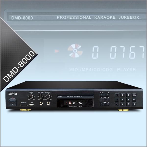 Midi/DVD Karaoke Player With Digital Recording 38k Karaoke songs DMD-8000 DVD/CD+G Karaoke Changer With USB/SD Reader(China (Mainland))