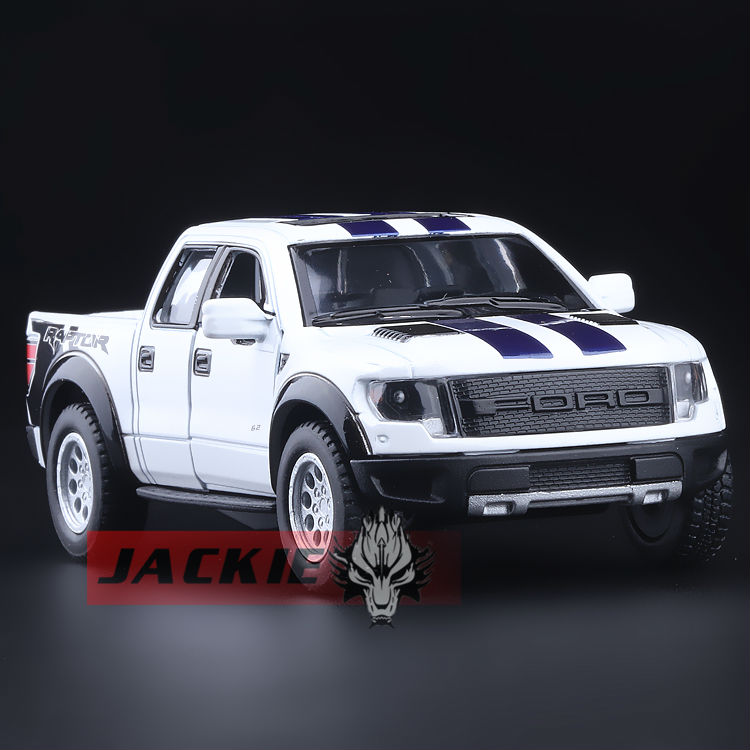 High Simulation Exquisite Collection Toys: KiNSMART Car Styling Ford F150 Raptor Pickup Trucks 1:46 Alloy Car Model Best Gifts(China (Mainland))