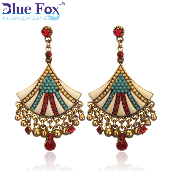 Umbrella 2014 Hot 2015 Cheap Sale Fashion Jewelry Vintage Big Earrings Alloy Swing Drop Earrings for women Two colors(China (Mainland))