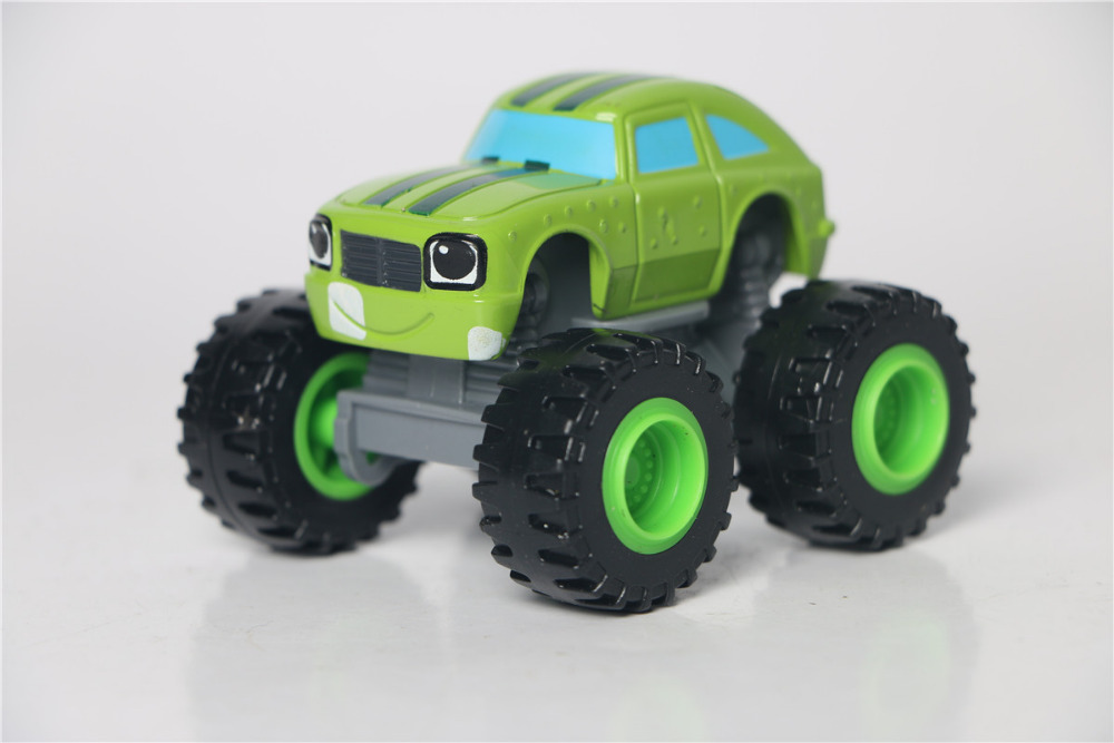 Pickle car 2016 New hot sale Blaze Monster cars Children best car toys send without original box model Classical Toy Vehicles(China (Mainland))