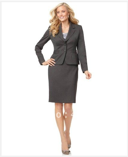 womens suit dress custom suit grey suit
