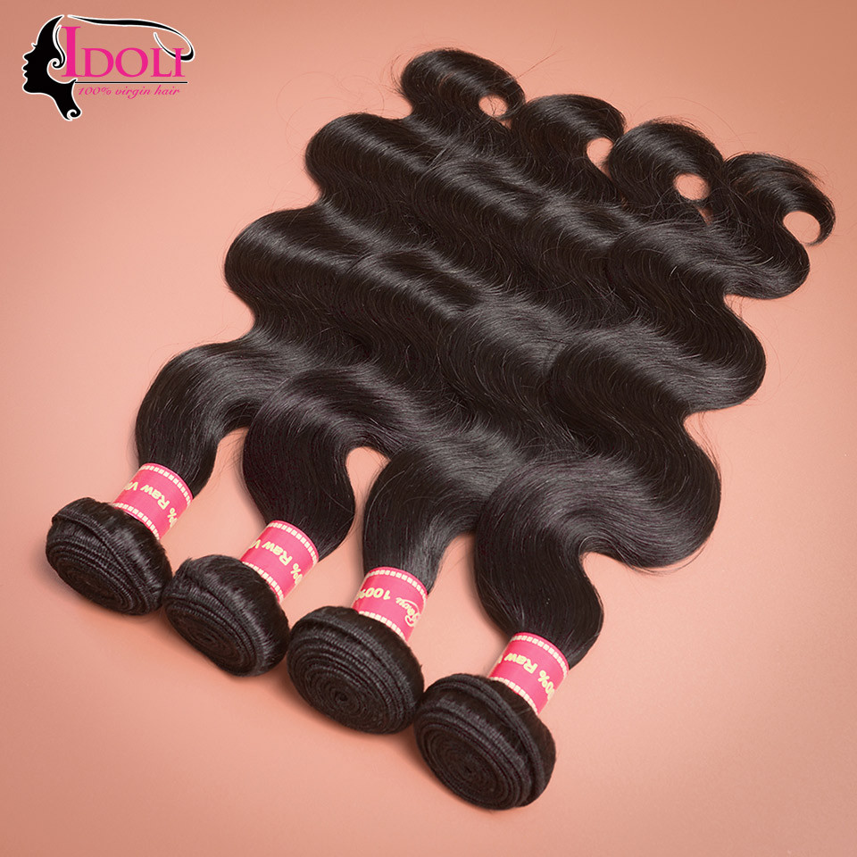 7A Peruvian Virgin Hair Body Wave 4 Bundle Peruvian Body Wave Bundles Rosa Hair Products Peruvian Virgin Hair Human Hair Bundles