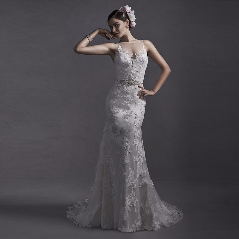Mansa Vestido De Noiva Vintage Wedding Gowns 2015 Plus