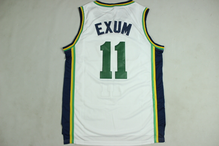 Best Quality Basketball Jersey Utah #11 Hot Sale Jazz Mesh Authentic cheap jerseys With Famous Brand Logo throwback(China (Mainland))