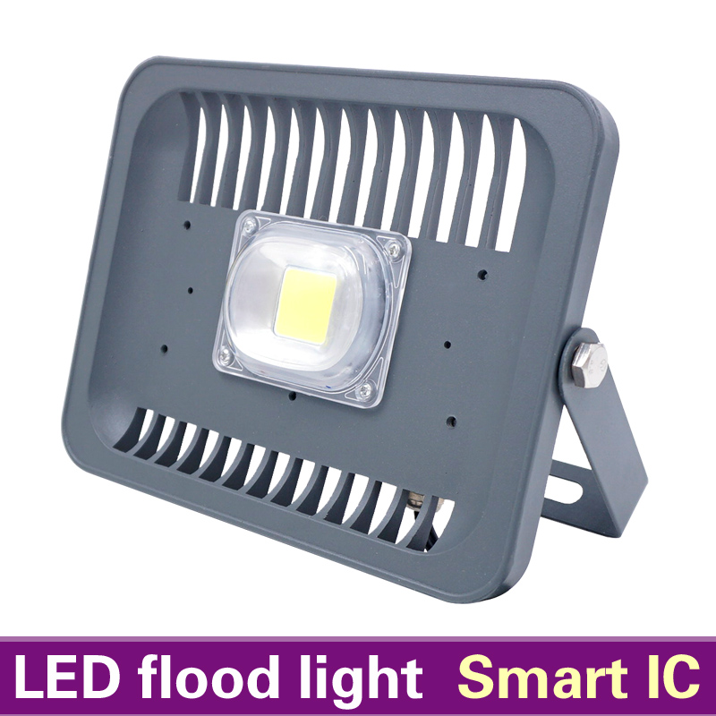 MB-Lighting LED Flood Light Waterproof IP65 30W 50W 100W 220V Smart IC LED Spotlight Fit For Outdoor Wall Lamp Garden Projectors(China (Mainland))