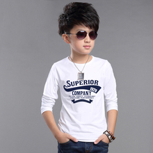 2016 new spring autumn streetwear children clothes kids t shirts tees boys clothing enfant baby long sleeve tees tops t shirts