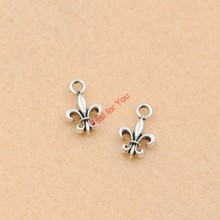 Buy 20pcs Antique Silver Tone Iris Flower Charms Pendants Jewelry Making Diy Jewelry Findings 14x9mm for $1.49 in AliExpress store
