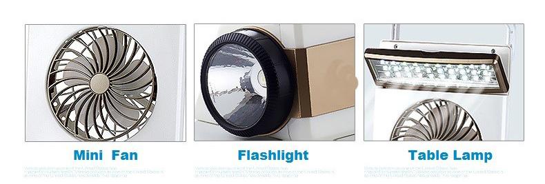 4 In1 Creative Solar Energy Lamp LED Light Fans Rechargeable and Solar Electric Fan Emergency Light Lamp Mini Lamp Mini Fans