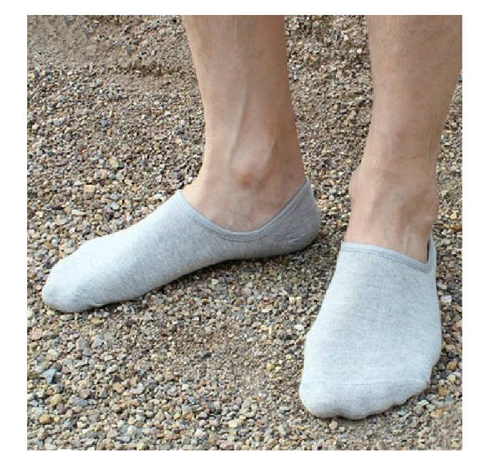 1 Pair Men's Sock high quality Casual 100% Cotton Loafer Boat sock Non-Slip Invisible Low Cut No Show Cosy Socks 2015 Hot Sell!(China (Mainland))