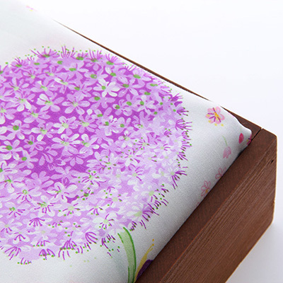 Cotton Fabric Patchwork For Sewing DIY Handmade Hometextile Cloth For Dress Curtain Pink purple dandelion160x50cm(China (Mainland))
