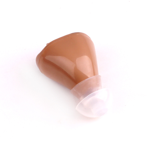 MINI Hearing Aid Ear Volume Adjustable Voice Sound Amplifier personal care wireless Battery Power High quality(China (Mainland))