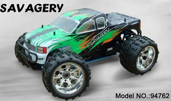 1 8 RC Truck HSP 94762 with 2 4G Control SH21 Engine Off Road monster truck