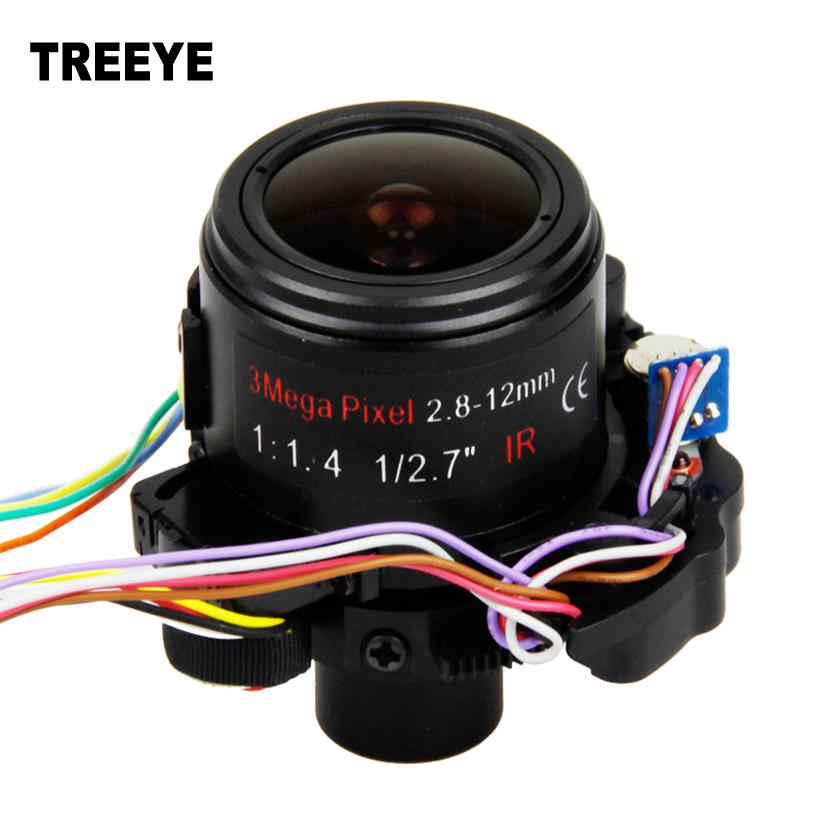 "HD 3.0Megapixel 2.8-12mm Varifocal CCTV Zoom Lens Motorized 1/2.7"" For HD CCTV Cameras Auto Iris Auto Focus Zoom ICR F1.8 D14(China (Mainland))"