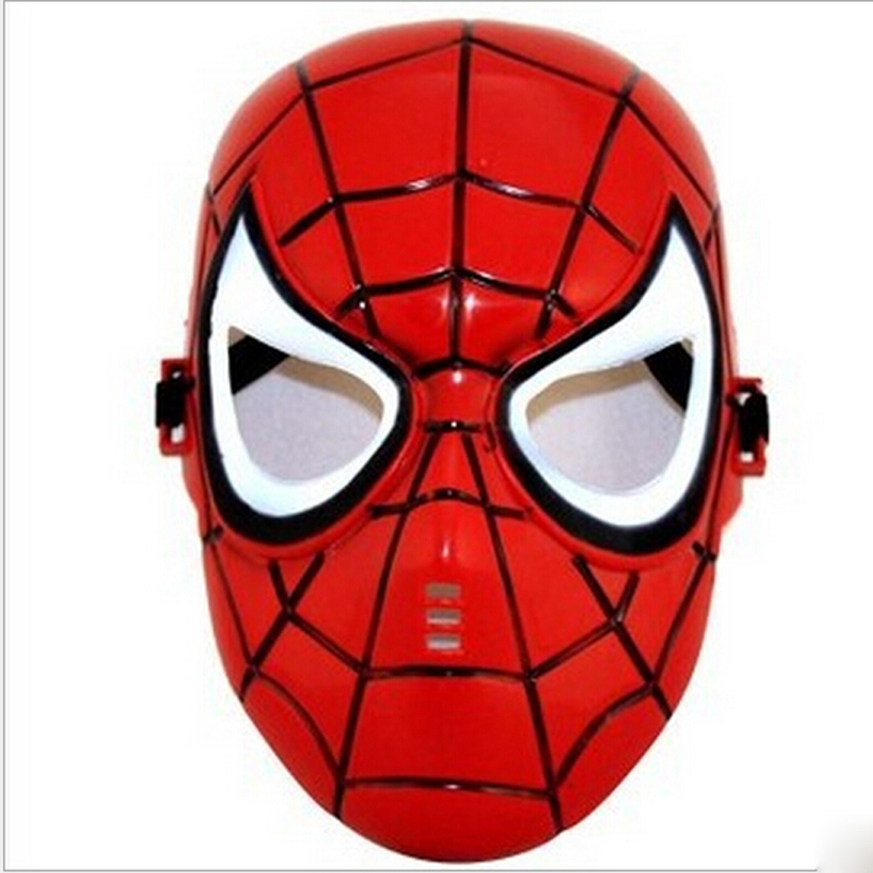 1PC Red/Black Spiderman Masquerade Mask Full Face Party Halloween Cosplay Accessory Children, - Kingbest LCD Panel store