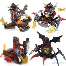 SY615B 3 IN 1 Nexus Knights Minifigures Ultimate Beast Master,Ultimate Lavaria Nexoes Blocks Toys Kids - Fantastic Works store