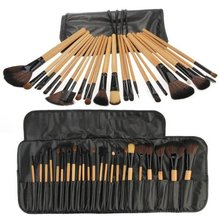 Best Sale 24 Brushes Professional Makeup Brushes Best Sale Cosmetics Kit(China (Mainland))