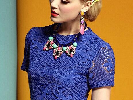 2015 Luxury Cameo Collar Necklace Statement/korea Designer Brand Bohemian Jewelry Accessories For Woman/colar/collier/bijoux(China (Mainland))