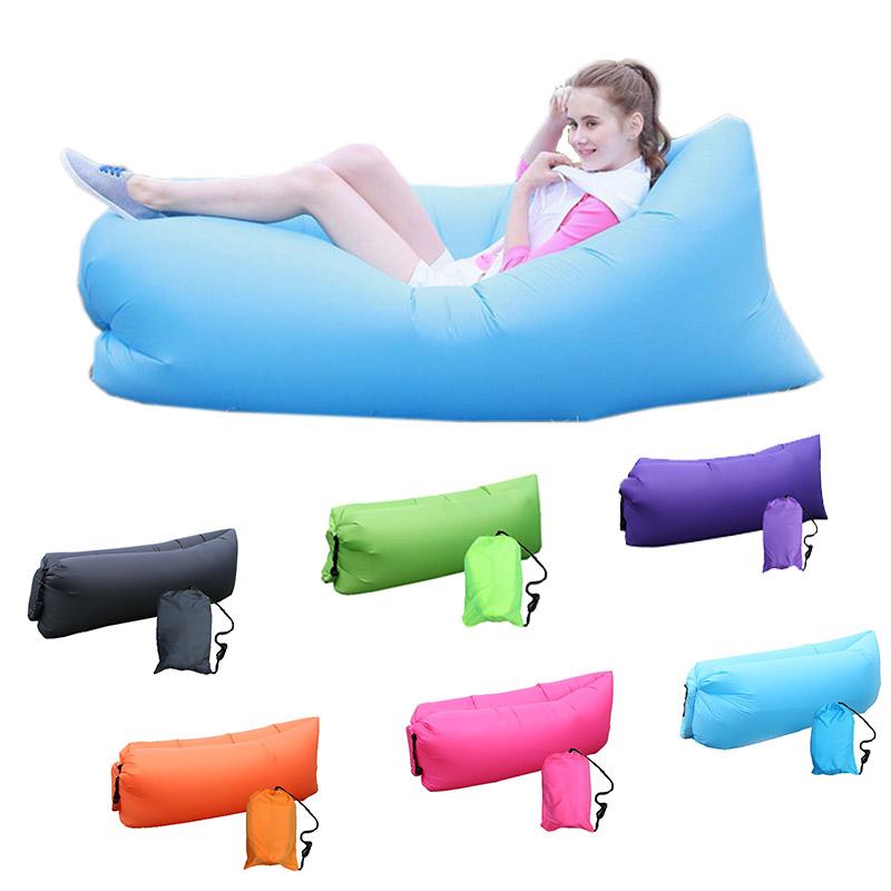 Achetez en gros rouge gonflable chaise en ligne des for Chaise gonflable