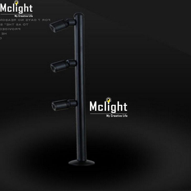 Купить Современный Белый Черный Изюминкой светодиодный прожектор потолочный светильник лампа Переднего Зеркала Свет Дисплея Шкаф Настенный Светильник
