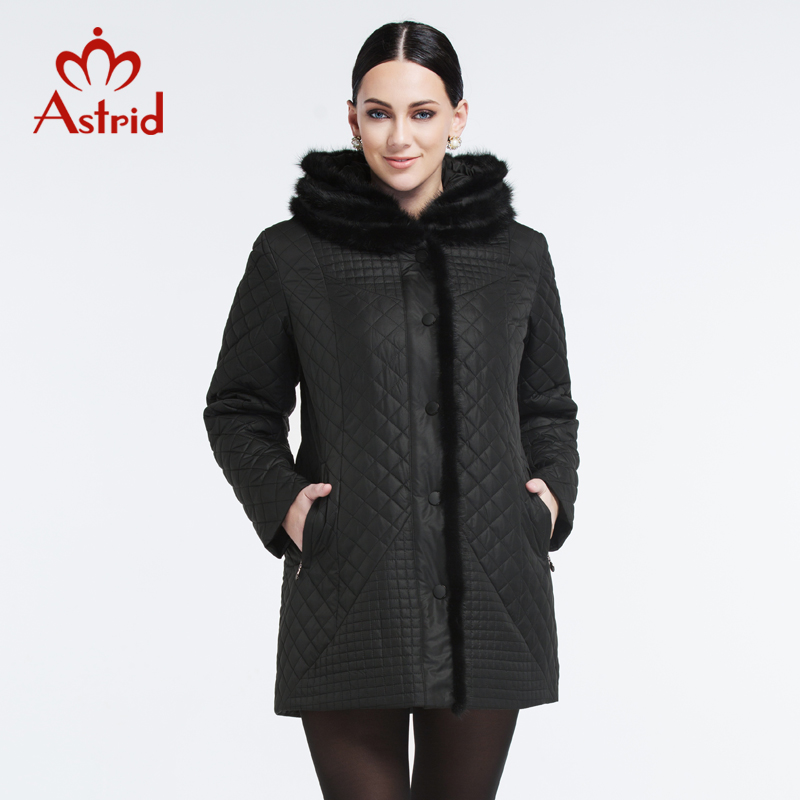 Astrid 2015 Parkas For Women Winter Coat Jacket Women Out High-Quality Large Size Fashion Casual Thick Warm Mink collar AM-9069(China (Mainland))
