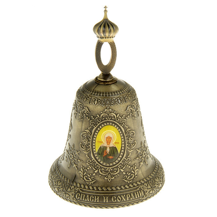 Antique small bells. Vintage Catholic church bell. Metal gold crafts gift. Decorative wall hangings. Russian hot sale production(China (Mainland))
