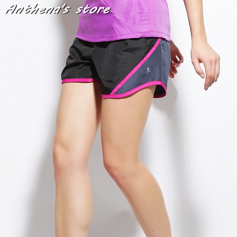 2016 Brand Fashion Summer Sports Women Shorts Leisure Elastic Waist Women  Shorts Female Casual Yo-Ga Running Short Feminino 7c95c263e13b