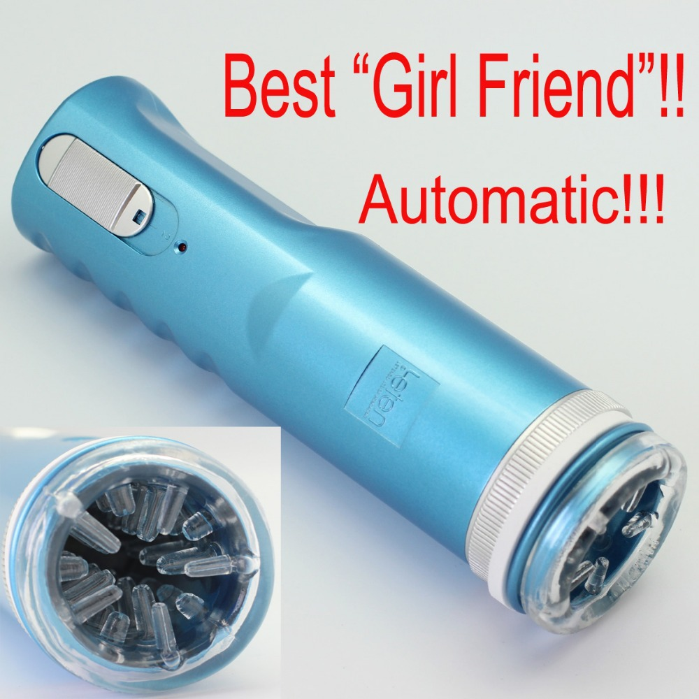 Blue Electric Retractable Male Masturbator Pussy Cup, Piston Fully-automatic Sex Machine, Sex toys for men, Adult Sex toys X-9A(China (Mainland))