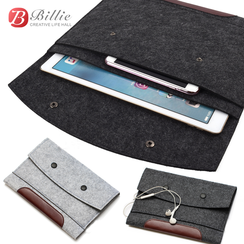 """Woolen Felt Sleeve Bag Case Pouch Tablet Cover For Apple iPad Pro 12.9"""" Sleeve Pouch Bag Laptop Bag Anti-scratch Shockproof(China (Mainland))"""