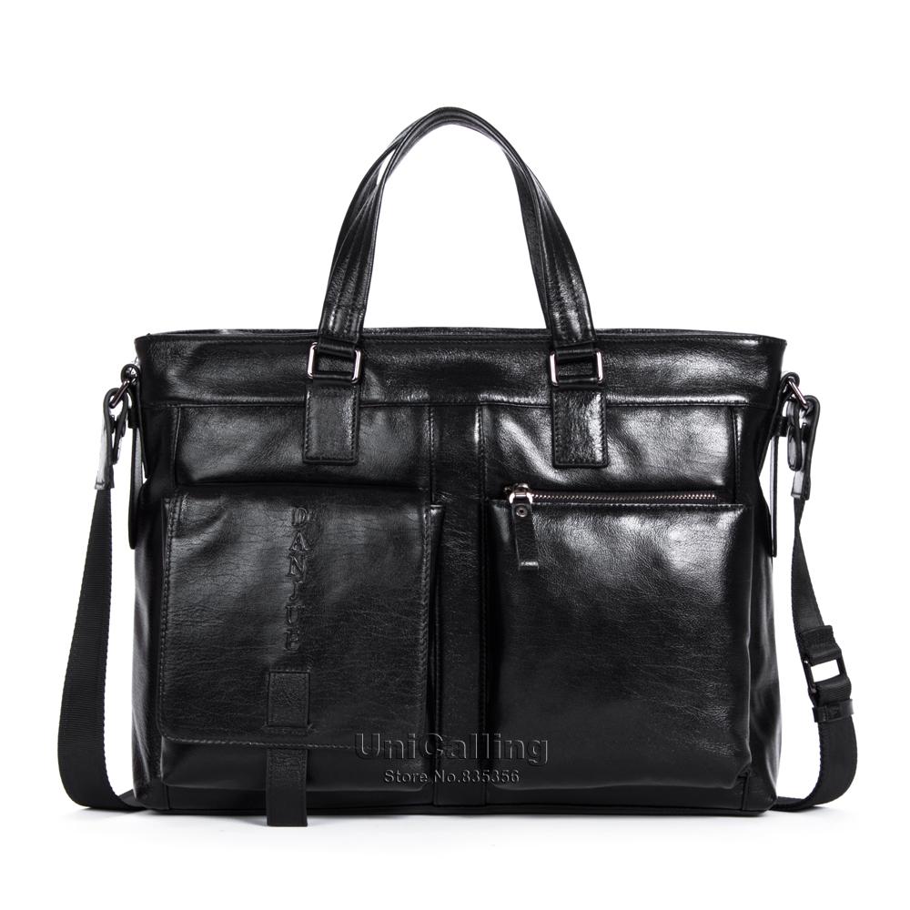 2 Genuine factory direct sales fashion new laptop bag business man bag leather mens handbag<br><br>Aliexpress