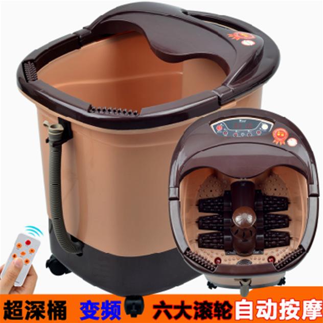 Full automatic electric heating foot massage massage footbath basin pedicure device factory direct foot bath<br><br>Aliexpress